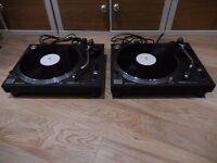 Technics 1210 Mk2 Turntables (mint condition) + Technics separates + Pioneer DJM300 mixer