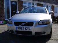 Volvo c70 2.4 i 2007 Very Low Mileage Silver Excellent Condition Full service History New Timingbelt