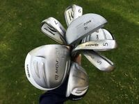 Junior Golf Set. 4 irons, 3 woods and Putter. Suit ages 8-11
