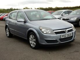 2005 vauxhall astra 1.4 petrol with only 44000 miles, motd oct 2018 full history