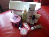 Brand lynx pink makeup bag and all new products £5 for all