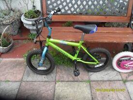 childs bike bugg major damage