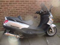 piaggio x9 125 running big moped 2001