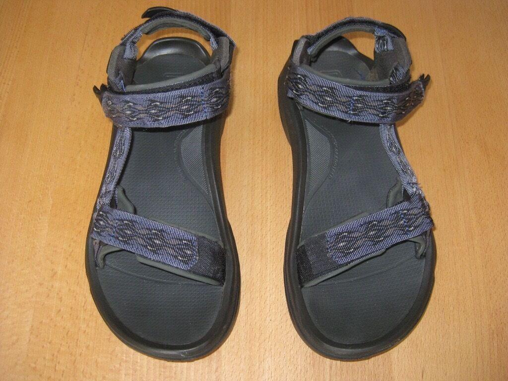 0ea37eb29a57 TEVA Terra Fi 4 mens or unisex walking sandals. Size 9 UK (43 EU). Very  good condition. Blue.