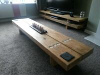 6ft Reclaimed Beam Coffee Table