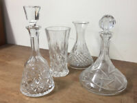 QUALITY GLASSWARE & TABLEWARE - ITEMS FROM £5 - CASH ON COLLECTION ONLY - ALL ITEMS NEW OR MINT
