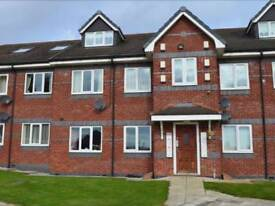 Large 2 Bed Penthouse Apartment near Widnes Town Centre