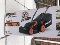 Lawnmower..Worx 20v brand new