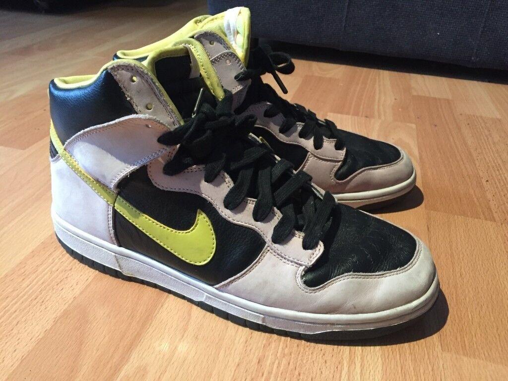 39edfa7eff4f Nike SB Dunk Retro High Top Trainers - Size 10 UK
