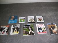 Border Collie books and Puppie DVDs.