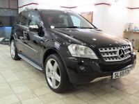 !!MUST BE SEEN!! 2009 MERCEDES ML350 CDI / MOT OCT 2017 / FULL SERVICE HISTORY / 21INCH WHEELS