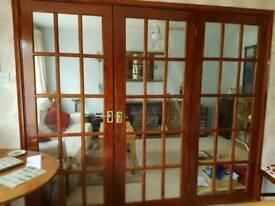 3 Glass Panel Doors