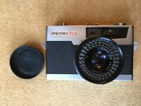 Vintage Petri 7S 2 (II) Camera. Good Condition.