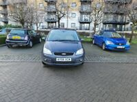 2006 Ford Focus CMAX Ghia AUTOMATIC 1.9 Petrol Grey 2 Keys HPI clear Full service MOT Jan 2021