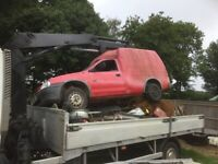 Wanted scrap cars / metal cleared