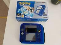 Nintendo 2DS Special Edition: Pokémon Blue Version