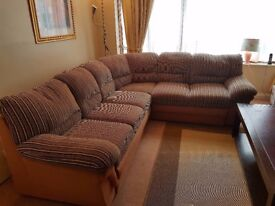 Corner Sofa Bed. Excellent condition ,no marks or stains from very clean household.