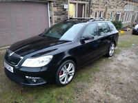Skoda Octavia 2.0 TDI VRS Estate - new turbo, timing belt. Remapped to 200bhp, bluetooth