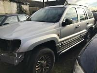 Jeep Grand Cherokee 2.7crd silver / breaking all parts available
