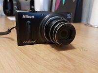 Compact camera Nikon Coolpix s9600. Superb conditions: like New
