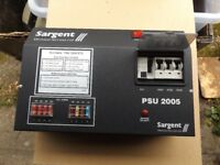 Sargent PSU 2005 Power Supply unit