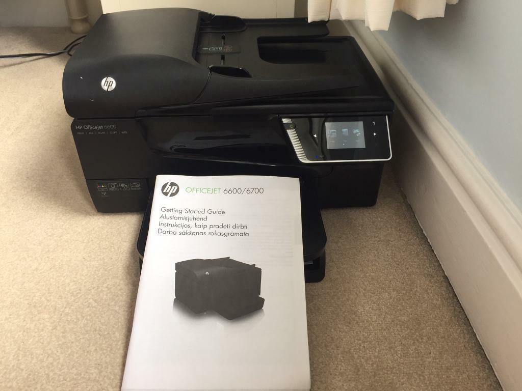 HP office 6600 printer all in one scan/print/copy/fax | in Lytham St Annes,  Lancashire | Gumtree