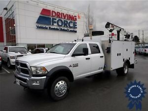 2014 Ram 5500 SLT Service Body Truck, 4.44 Locking Rear Axle