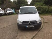MERCEDES VITO LWB.2014.AUTOMATIC.ONE OWNER.NEW FIRST MOT.WARRANTY INCLUDED