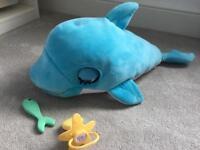 Blu Blu interactive baby dolphin