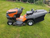 HUSQVARNA 142 lLAWN TRACTOR MOWER FOR SALE 21HP B AND S ENGINE