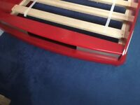 Children's Red Sports Car Bed