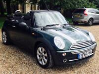 MINI 'ONE EDITION' CONVERTIBLE (2007 MODEL) '1.6 PETROL - 5 SPEED' **LOW MILES** (NO VAT)