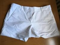 Lovely White Zara Shorts Size M