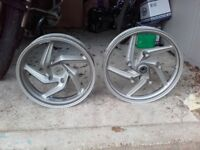 Pair of BMW 1200R Cast Wheels.