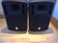 "2 PA Disco Speakers 12"" as new, 250w rms 600w peak"