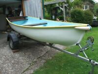 13foot rowing/fishing boat/ dinghy
