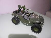 HALO 4 DIE CAST MODELS - WARTHOG & GHOST - SERIES 1 JADA