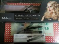 Babyliss curlers & crimpers