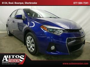 2014 Toyota Corolla S + SHIFT PADDLE + BAS KILO + BLUETOOTH