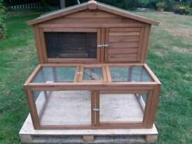 New The lodge 4ft rabbit hutch