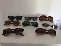 Sunglasses various styles