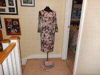 Beautiful Formal / Wedding Outfit - Ladies size 10 Phase Eight Dress, Shoes & clutch bag
