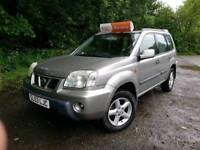 Nissan X-trail 2003, 2 owners, Diesel, 4x4, MOT June 2018