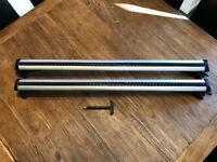 Genuine Audi A6 Avant OEM Roof Bars for 2011 Model onwards.