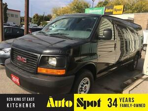 2016 GMC Savana Extended/MASSIVE CLEAROUT EVENT/PRICED FOR A QUI