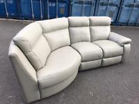 Italian genuine leather sofa 230/140 cm can deliver