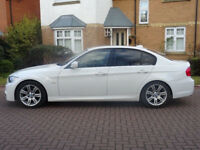 BMW 3 SERIES 2.0 320D M SPORT 4d 181 BHP SERVICE RECORD ++ BLUETOOTH BLACK DAKOTA LEATHER ++