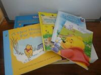 Lot Bundle of 5 x Disney Winnie the Pooh Books