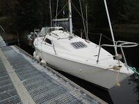 Hunter Sonata Sailing Boat