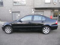 2003 BMW 316 I SE in beautiful metalic black Long MOT E46 3 series 316i SE not A4 golf passat mondeo